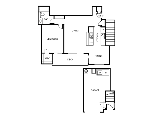 Cambria Floor Plan | Serrano Highlands Apartments | Apartments in Lake Forest