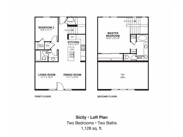 2 bed 2 bath apartment in oceanside ca piazza d oro for Oceanside house plans