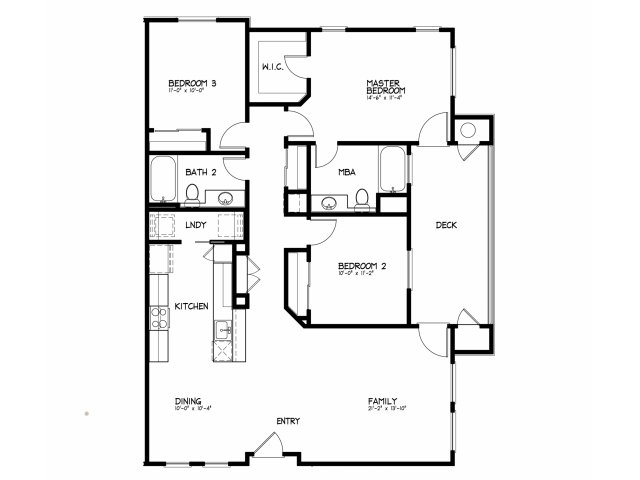 3 Bed 2 Bath Apartment In Roseville Ca Pearl Creek