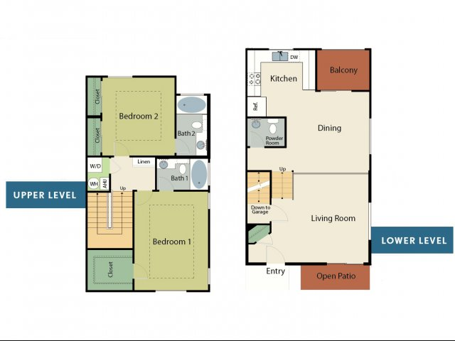 Two Bedroom Apartments in Roseville, CA l Adora Apartments