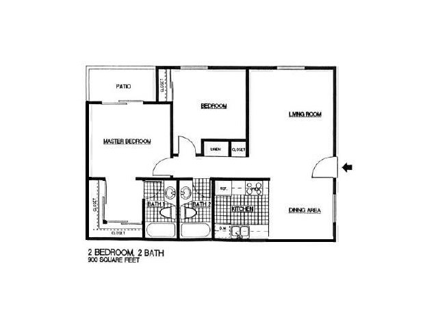 Two Bedroom Apartments in Vista l Taylor Brooke Apartment Homes