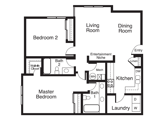 Two Bedroom Apartments in Sacramento, Ca l Wolf Ranch Apartments