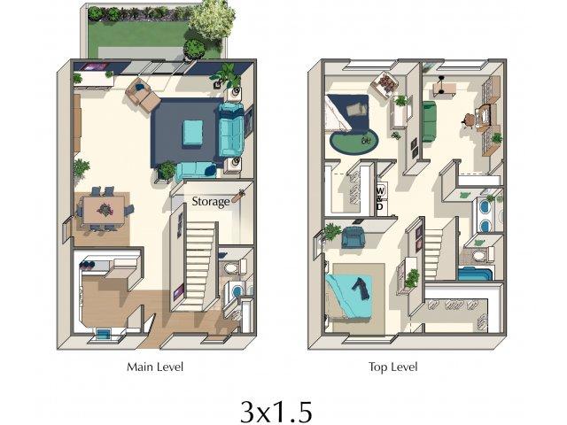 Three Bedroom Apartments in Sacramento, Ca l Esplanade Apartments