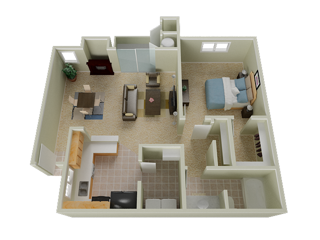 One Bedroom Apartments in Elk Grove   Stone Lake