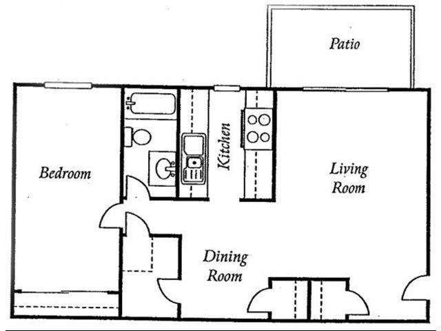 One Bedroom Apartments for rent at Torrey Ridge Apartments l Fresno Rentals, Ca
