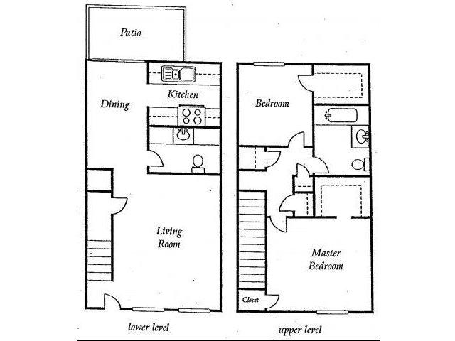 Two Bedroom Apartments for rent at Torrey Ridge Apartments l Fresno Rentals, Ca