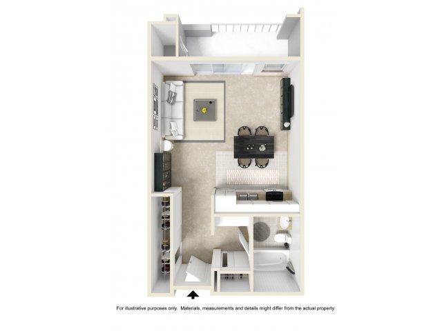 Studio Apartments for rent in San Pedro, CA l Bayridge Apartment Homes