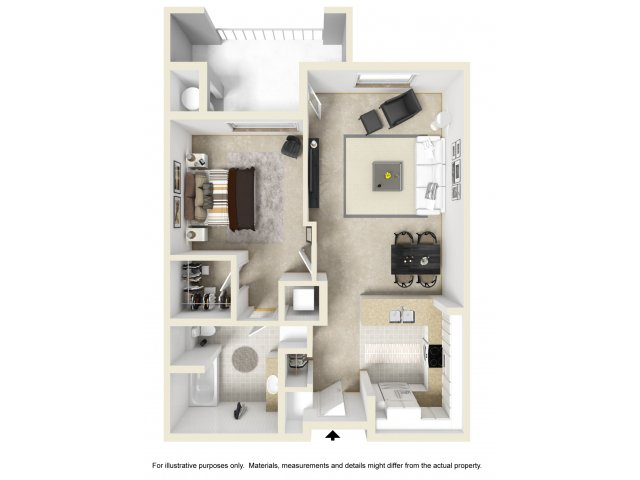 One Bedroom Apartments For Rent in Ontario, CA l The Colony at Ontario Square Apartment Homes