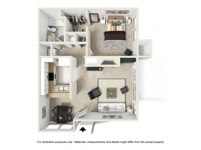 One Bedroom Apartments in San Pedro, CA l Harborview Apartment Homes