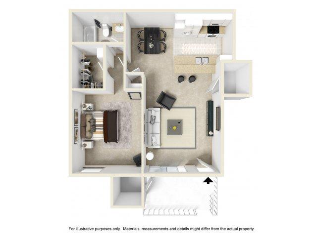 One Bedroom Apartments in Vista, CA l Hidden Hills Apartment Homes
