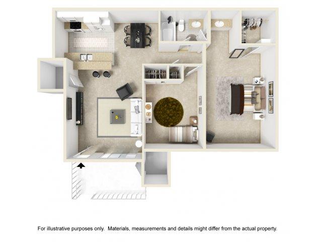 Two Bedroom Apartments in Vista, CA l Hidden Hills Apartment Homes