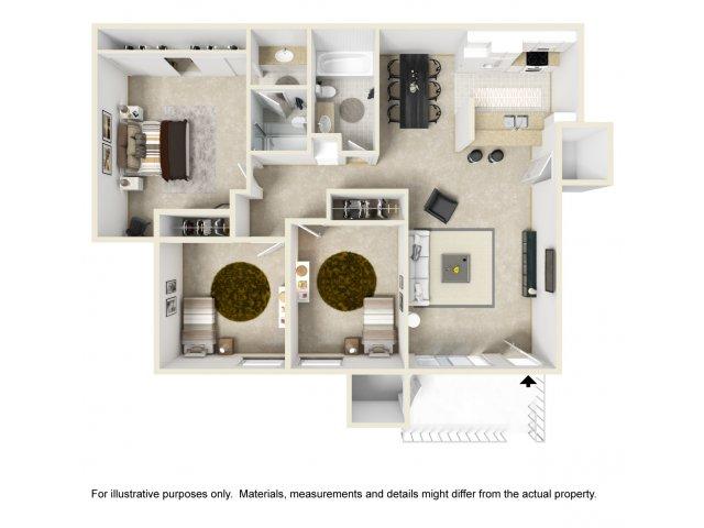 Three Bedroom Apartments in Vista, CA l Hidden Hills Apartment Homes