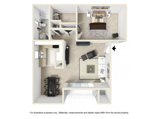 One Bedroom Apartments for rent in Ontario, CA l Mountain Summit Apartment Homes