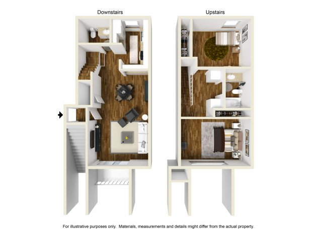 Two Bedroom Apartments for rentin Lakewood, CA l Towne Center Apartment Homes