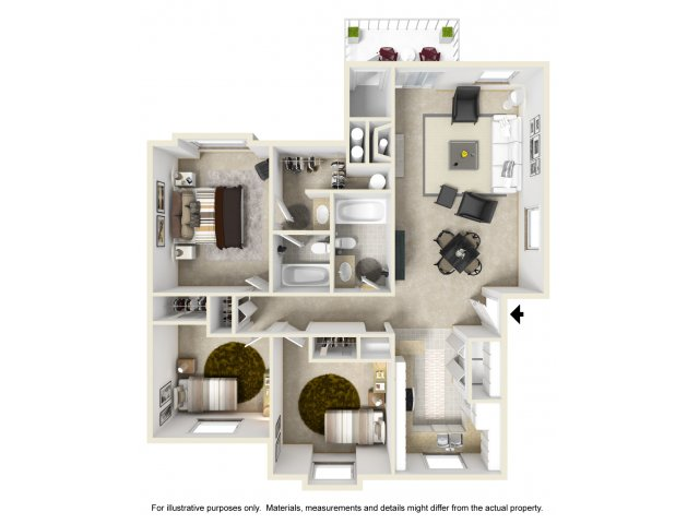Two Bedroom Apartments in Kent | Atrium on James