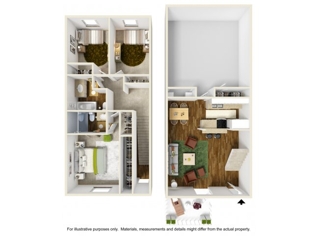 Three Bedroom Apartments in Montclair, CA | The Lexington