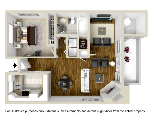 One Bedroom Apartments in Vallejo | Bay Village