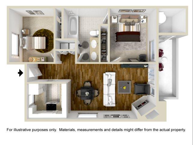 Two Bedroom Apartments in Vallejo | Bay Village