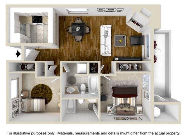 TwoBedroom Apartments in Vallejo | Bay Village