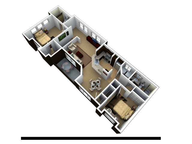 Two Bedroom Apartments for rent in Sparks NV, Trails at Pioneer Meadows
