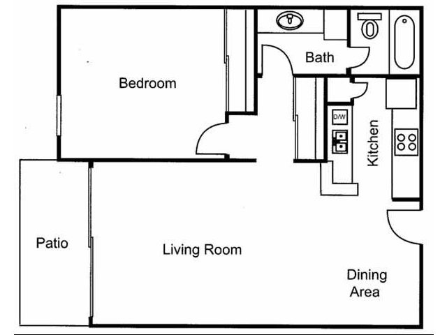 One Bedroom West Covina, CA Apartments For Rent l Brookstone Apartments