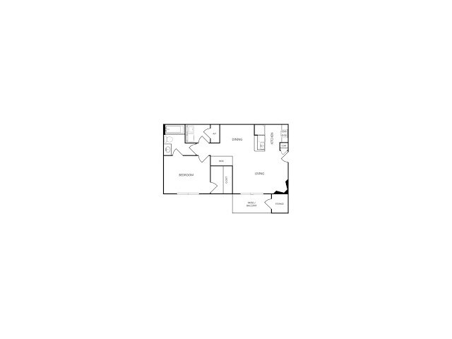 One Bedroom Apartments for rent The Residence at CTM l Waco, Texas Apartments