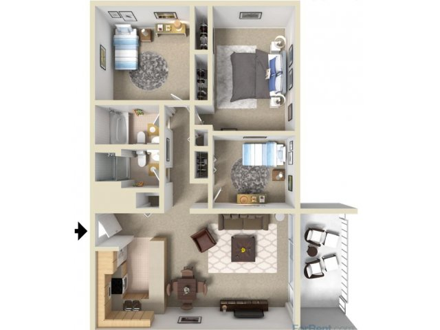 Floor plans are individually unique by design. Images for illustration purposes only, please call for details.