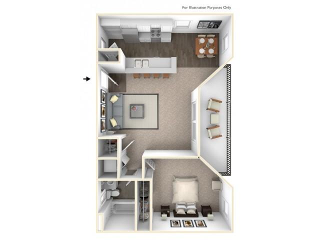 1, 2,3 Bedroom Apartments at Madison Park Alta Loma, CA
