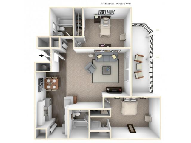 2Bedroom Apartments for rent Alta Loma, CA