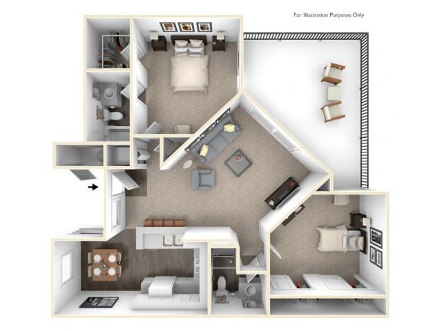 1, 23 Bedroom Apartments at Madison Park Alta Loma, CA