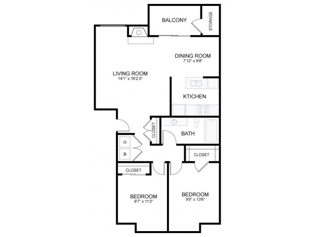 2 bedroom 1 bath apartments. All Floor Plans2 Bedroom 1 Bath 2 Bed  Apartment in Bremerton WA Olympic Village Apartments