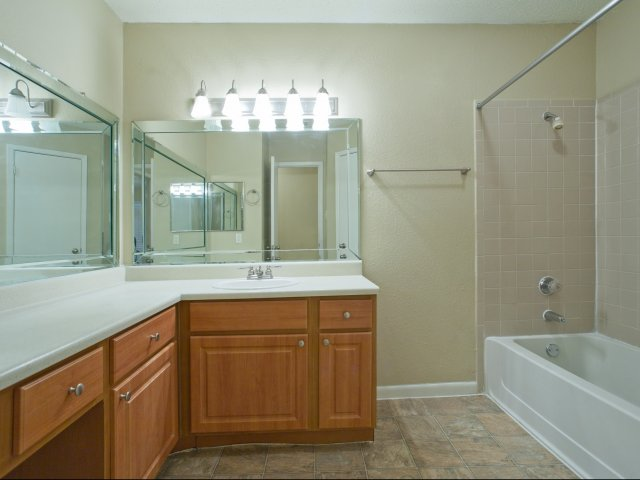 Arbors of Wells Branch Apartments for Rent in Austin, TX | Large Bathroom