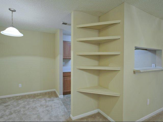 Arbors of Wells Branch Apartments for Rent in Austin, TX | Built-In Desk
