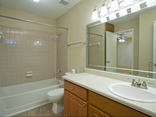Arbors of Wells Branch Apartments for Rent in Austin, TX | Bathroom