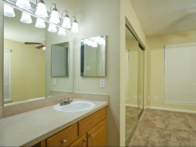 Arbors of Wells Branch Apartments for Rent in Austin, TX | Bathroom Vanity