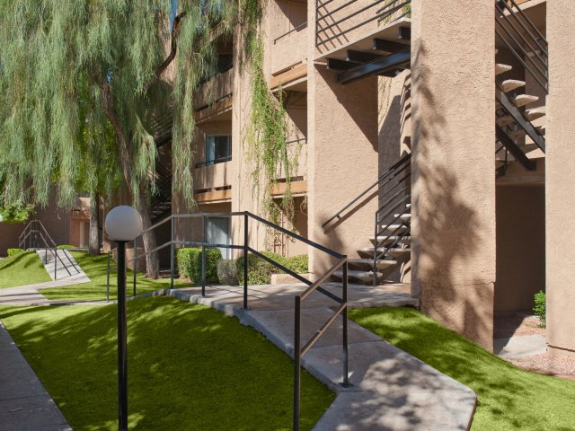 Meadow Glen | Apartments For Rent in Glendale, AZ | Exterior Path