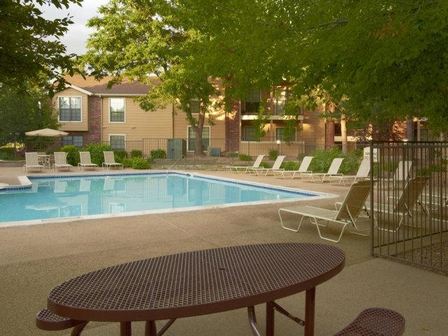 Canyon Chase | Westminster, CO Apartments | Picnic Area at Swimming Pool