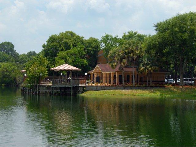 Oak Ramble   Tampa Palms, FL Apartments For Rent   Pool Overlooking Lake