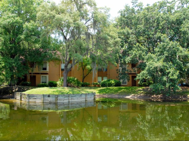 Oak Ramble | Apartments For Rent in Tampa Palms, FL | Apartments Overlooking Pond