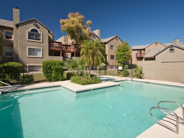 Terra Vida | Apartments for Rent in Mesa, AZ | Pool with Sundeck