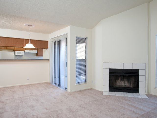Villas at Cave Creek Apartments for Rent in Pheonix, AZ | Fireplace and Patio