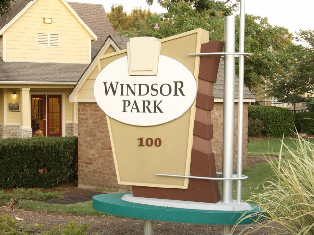 Windsor Park Apartments for Rent in Hendersonville, TN | Apartment Sign
