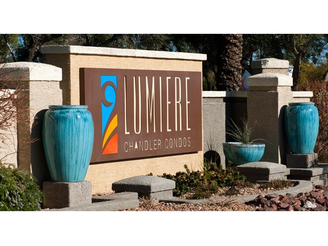 Lumiere Chandler Condos | Apartments For Rent in Chandler, AZ | Entrance