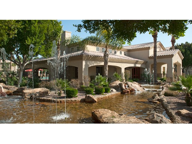 Sierra Foothills | Apartments For Rent in Phoenix, AZ | Landscaping and Fountains