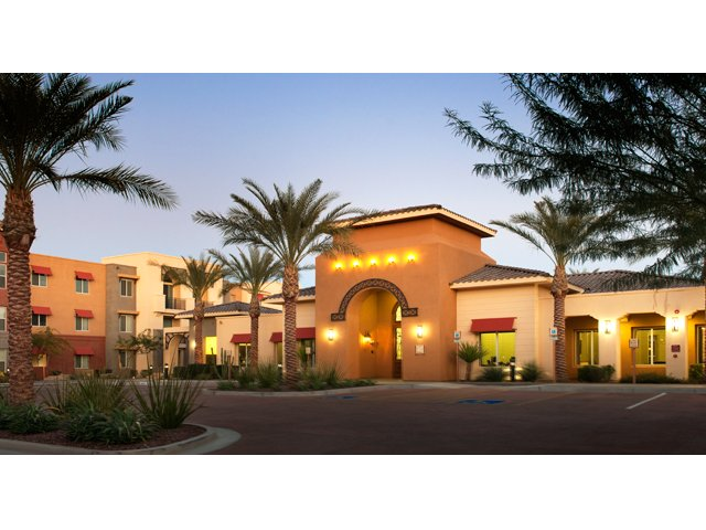 Residences at Village Stadium Apartments for Rent in Surprise, AZ | Office and Driveway