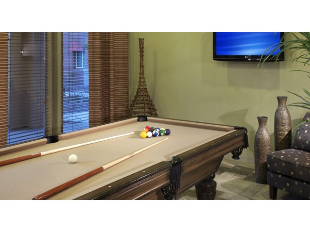 The Residences at Village Stadium Apartments in Surprise, AZ | Billiard Lounge
