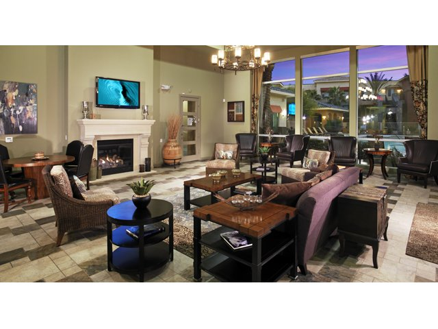 Residences at Village Stadium Apartments for Rent in Surprise, AZ | Clubhouse Lounge