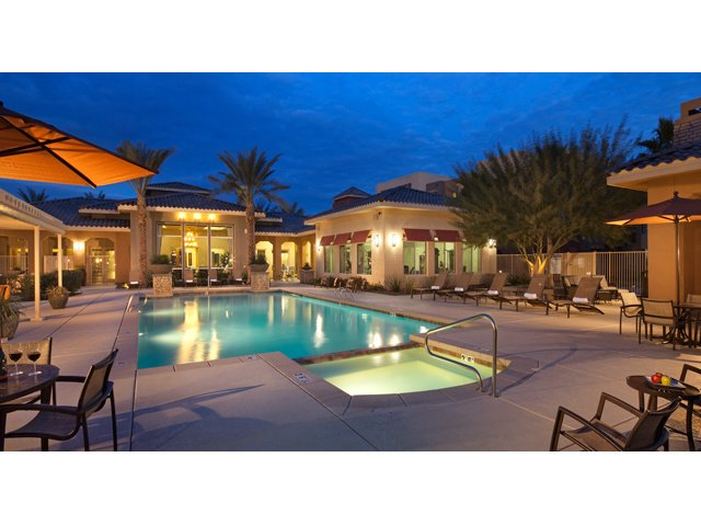 Residences at Village Stadium in Surprise, AZ Apartments For Rent | Pool and Spa