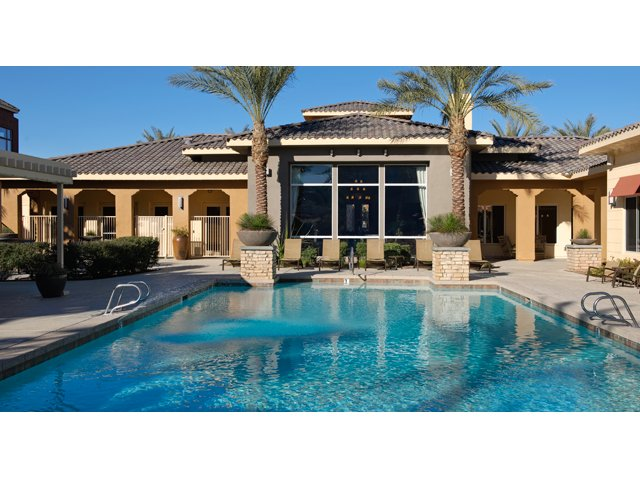 The Residences at Village Stadium Apartments in Surprise, AZ | Community Pool