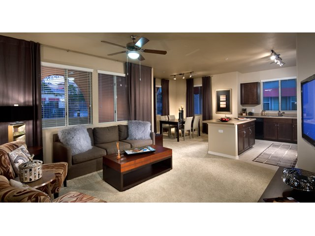 The Residences at Village Stadium Apartments in Surprise, AZ | Aaron Living Room
